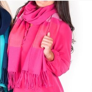 All for Color Pink Scarf